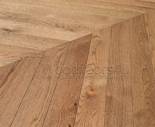 ebony chevron engineered oak flooring