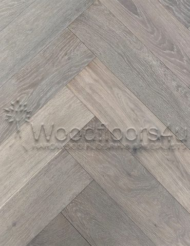 Active Grey Herringbone Oak Engineered Parquet