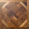 Smoked Oak Versailles Panel 600 x 600 oak engineered floor