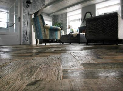 Create A Striking Finish with Herringbone Wood Flooring