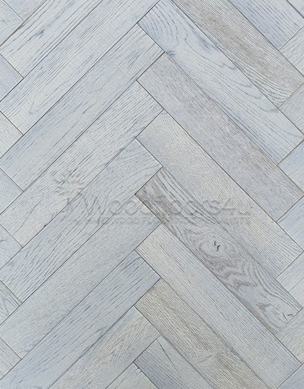 Lunar Oak Parquet Engineered Wood Flooring