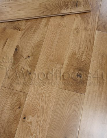 Solid Oak Flooring UV Lacquered 150 x 18mm