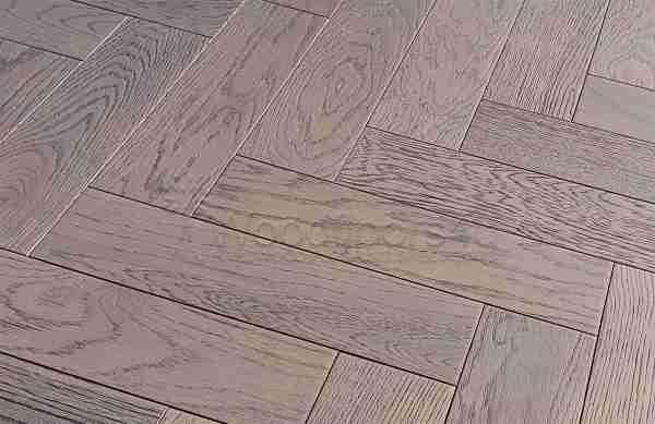 Slate Grey Oak Herringbone Oak Engineered