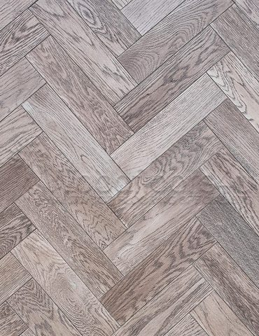 Ash Grey Herringbone Oak Engineered