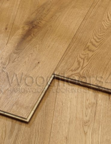 190mm Rustic Brushed & Oiled Oak Engineered Oiled Flooring