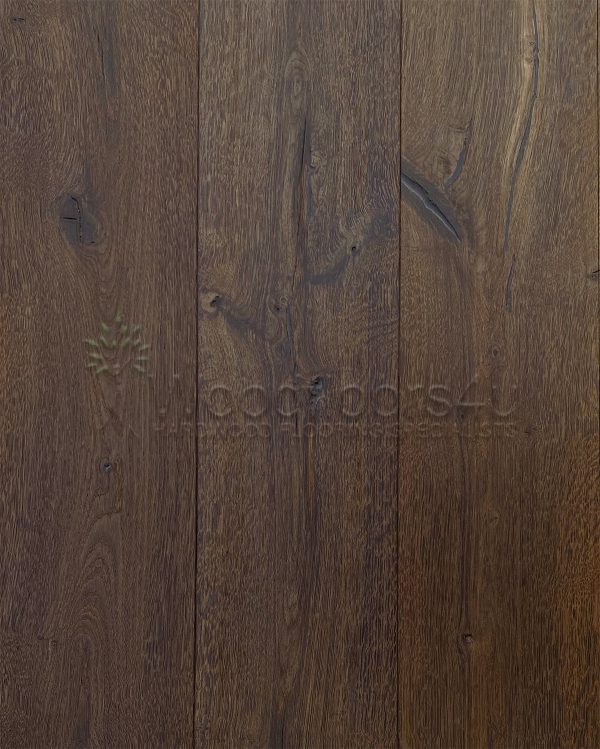 190mm Vintage Torched Oak Engineered Flooring