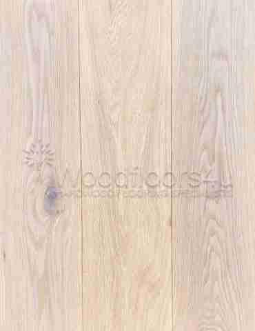 Cotton White Engineered Oiled Oak Flooring