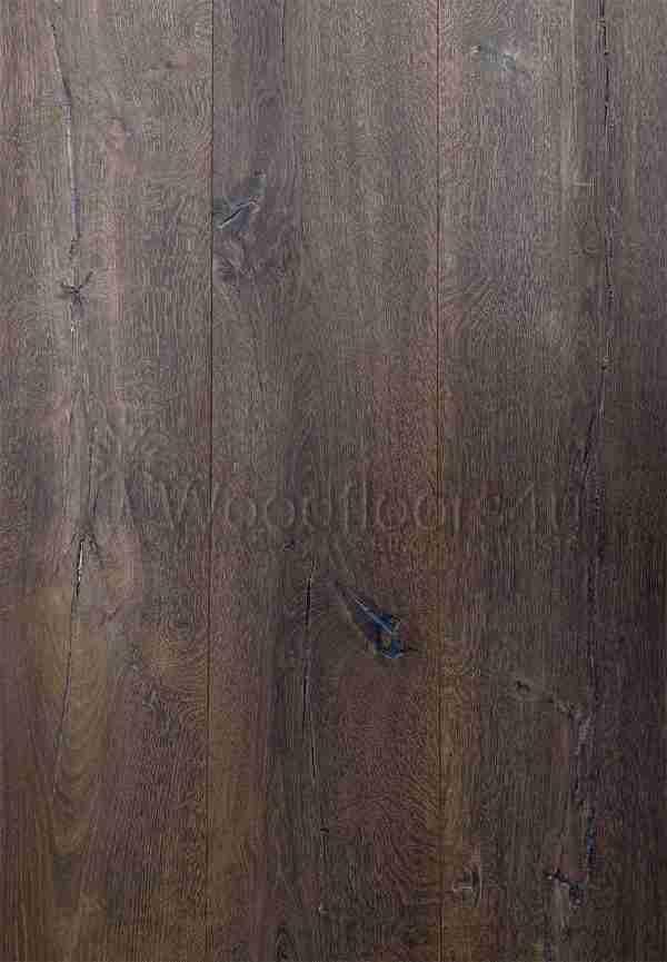 260mm Wide Vintage Torched Oak Engineered Flooring
