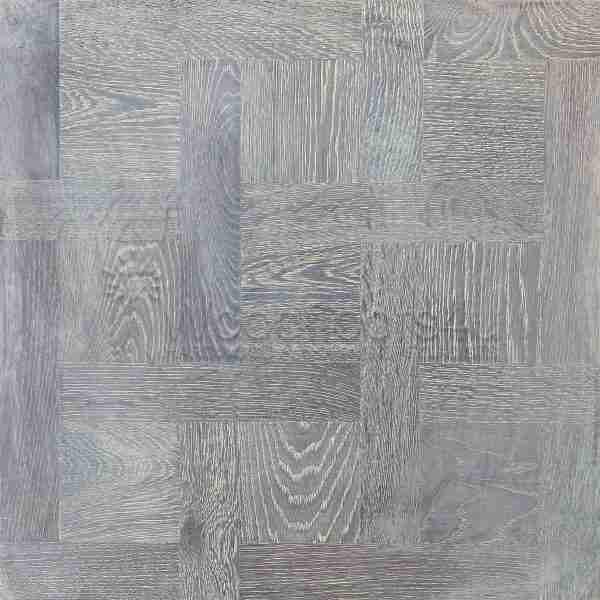 Pale Grey Versailles panel Oak