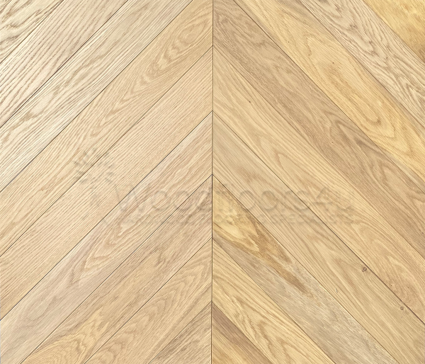 Invisible Chevron Oak Brushed & Oiled Engineered Flooring