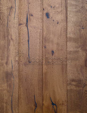 Dark Smoked Vintage Oak Engineered Wood Flooring